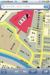神田周辺江戸時代地図