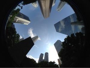 西新宿 高層ビル街