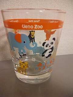 動物イラスト グラス2
