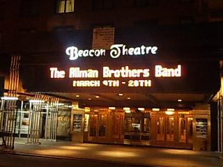 ニューヨーク ビーコンシアター入口