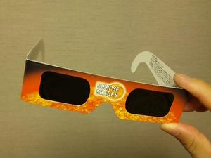 太陽観察用メガネ