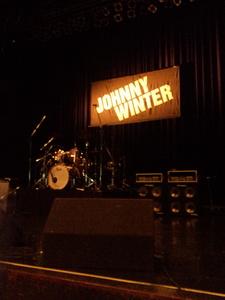 Johnny Winter 公演@ZeppTokyo 11/04/13 終演後