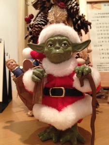 Merry X'mas! from YODA Santa