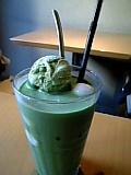 nana's green tea 抹茶白玉フロート