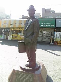 寅さん 銅像