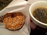 メープルドーナツ&コーヒー