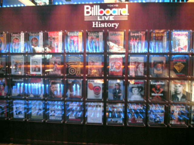 Billboard LIVE TOKYO エントランス