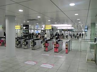 市営地下鉄 日吉駅地下改札